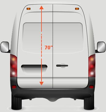 spinter-van-height