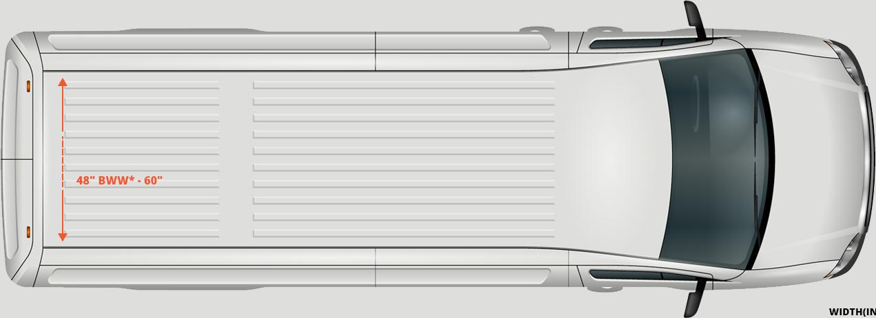 spinter-van-width